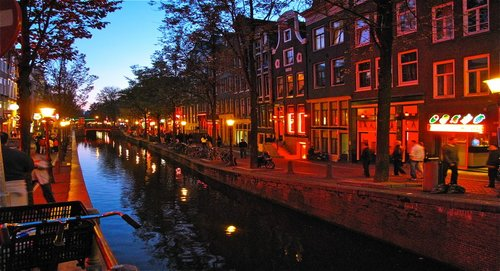 where to find red light district live sex show amsterdam
