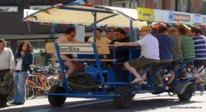 beer bike -amsterdam -stag do -bachelor - beerbike