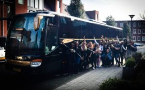 partybus -stag arrest - party