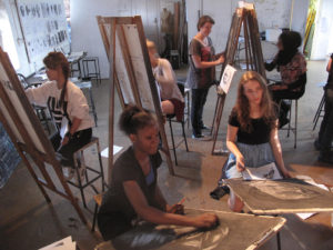 nude - painting - amsterdam - bachelorette - hen - party