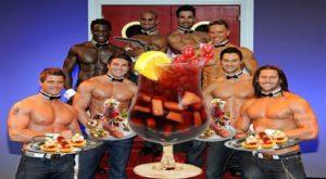 strip -dinner -bachelorette -party -amsterdam- hen