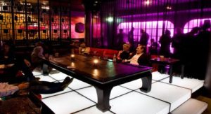 club -jimmy woo -amsterdam - table - bottle -vip -service
