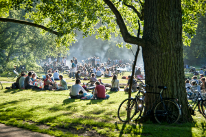 best bbq location amsterdam parks food